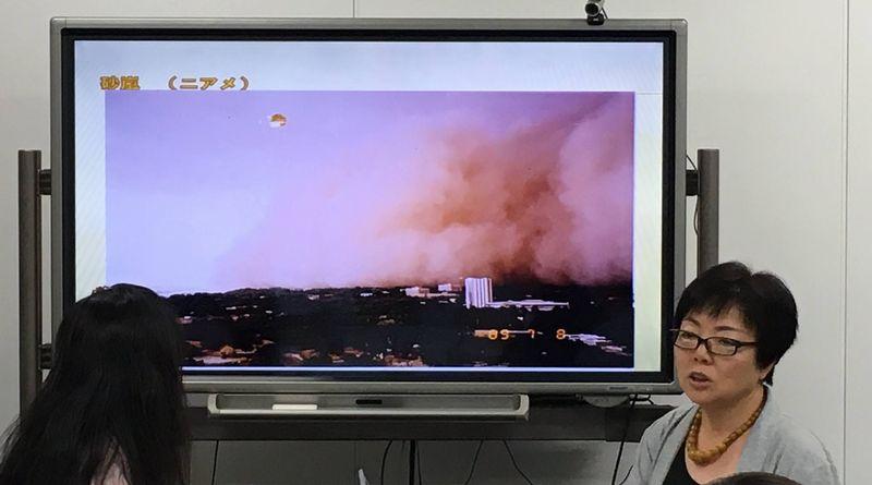 ニジェールの砂嵐