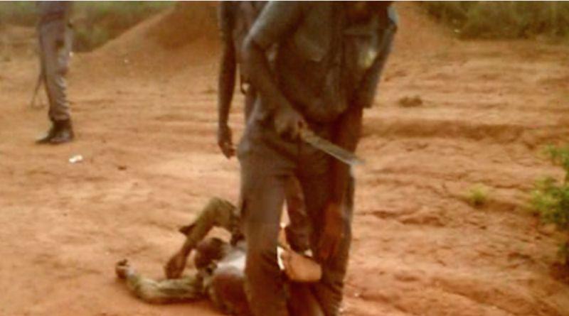 Angola machete torture